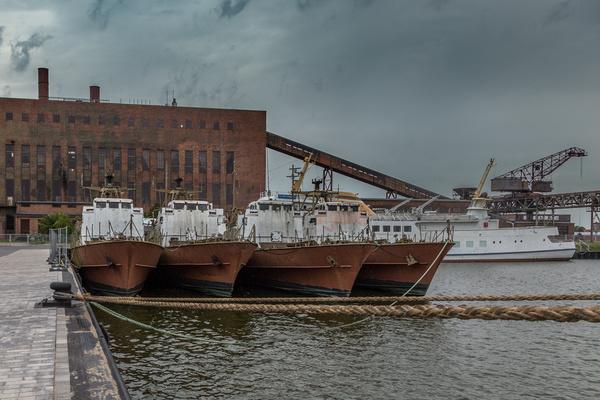 Hafen des Historisch-Technisches Museum Peenemünde
