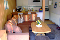 Ferienwohnung Hohensee Krumminer Wiek Wohnzimmer Küche
