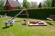 Ferienwohnung Hohensee Krumminer Wiek Garten Spielplatz