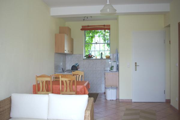 Ferienwohnung Carwitz Carwitzer See Wohnzimmer