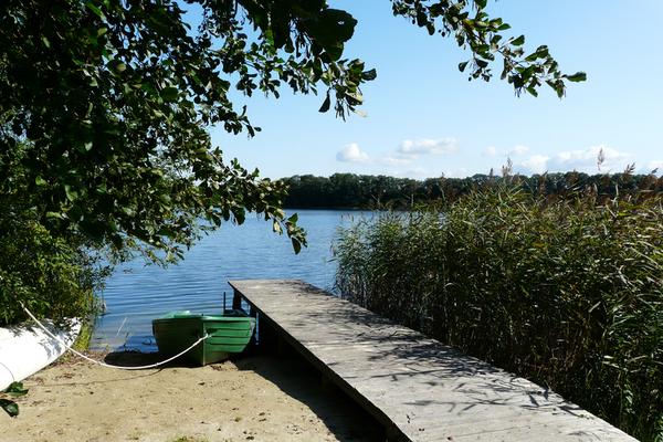 Ferienwohnung Alt Gaarz Hof See Steg