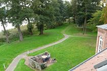 Ferienwohnung Alt Gaarz Hof See Terrasse mit Seeblick