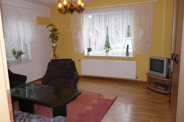 Ferienhaus Blankensee Wankaer See Wohnzimmer