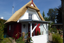 Ferienhaus Schwaan Ostseeküste Hausansicht