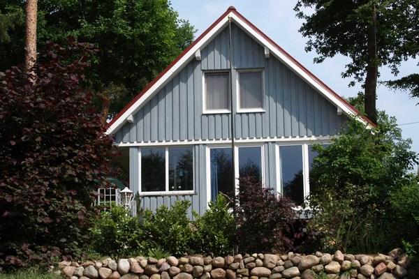 Ferienhaus Zislow Plauer See Hausansicht