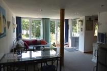 Ferienhaus Zislow Plauer See Wohnbereich