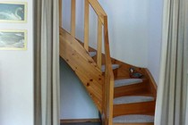 Ferienhaus Zislow Plauer See Treppe
