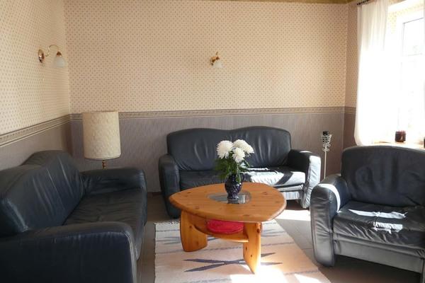 Feriewohnung Herzwolde Lutowsee Wohnzimmer