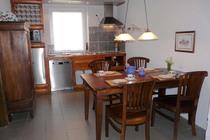Feriewohnung Herzwolde Lutowsee Küche