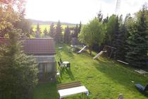 Ferienwohnung Mellenthin Insel Usedom Garten