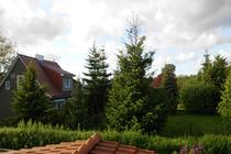 Ferienwohnung Mellenthin Insel Usedom Blick Fenster