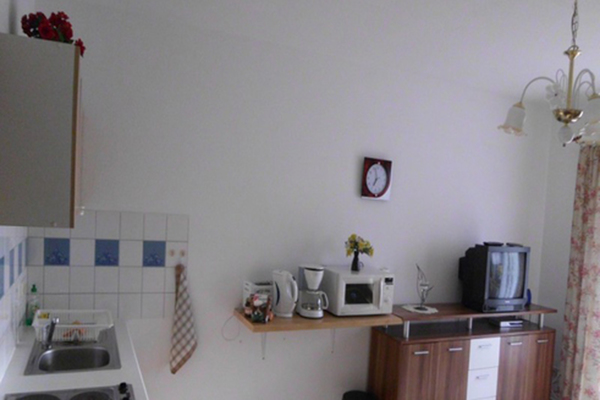 Ferienwohnung Mellenthin Insel Usedom Küche