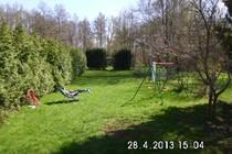 Ferienhaus Müritz Garten