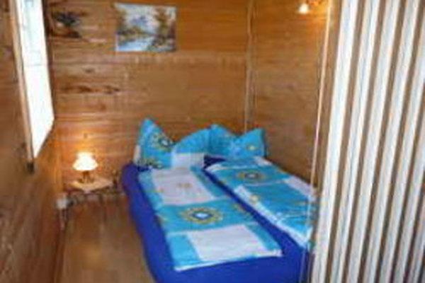 Ferienhaus Gotthun Müritz Schlafbereich