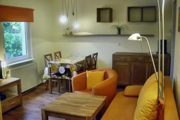 Ferienhaus Sagard Insel Rügen Wohnzimmer
