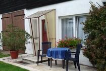 Ferienwohnung Mellenthin Insel Usedom Garten Sitzmöglichkeit