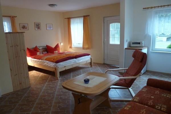Ferienhaus Trent Insel Rügen Wohnbereich