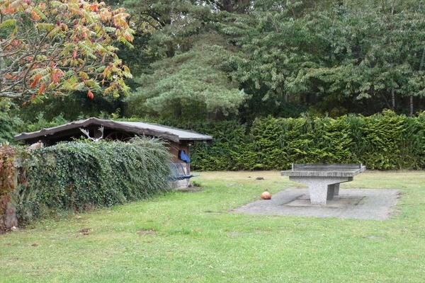 Ferienwohnung Trent Insel Rügen TischtennisGarten