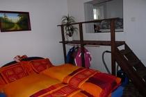 Ferienwohnung Trent Insel Rügen offener Schlafbereich