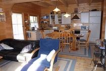 Ferienhaus Zislow Plauer See offene Küche