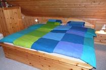 Ferienhaus Zislow Plauer See Schlafzimmer 2