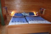 Ferienhaus Zislow Plauer See Schlafzimmer3