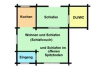 Ferienhaus Sternberg Sternberger See Grundriss