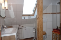Ferienwohnung Hohen Sprenz Hohensprenzer See Badezimmer