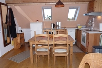 Ferienwohnung Hohen Sprenz Hohensprenzer See offene Küche