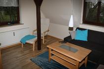 Ferienwohnung Groß Wüstenfelde Mecklenburger Seenplatte Wohnzimmer