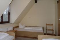 Ferienwohnung Groß Wüstenfelde Mecklenburger Seenplatte Schlafzimmer 1