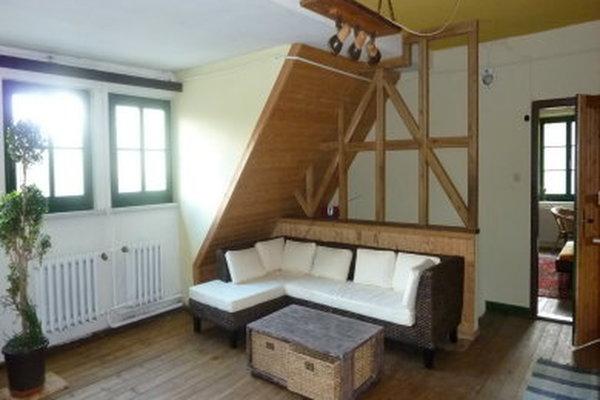 Ferienhaus Neukalen Kummerower See Wohnbereich