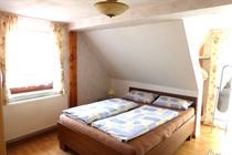 Ferienwohnung Domsühl Mecklenburger Seenplatte Schlafzimmer