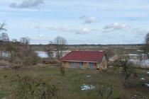 Ferienwohnung Altkalen Mecklenburger Seenplatte Fensterblick