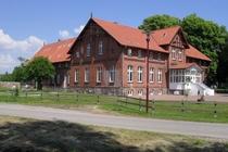 Ferienwohnung Altkalen Mecklenburger Seenplatte Haus von der Seite