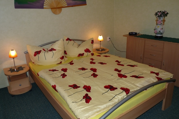 Ferienwohnung Petersdorf Schlafzimmer