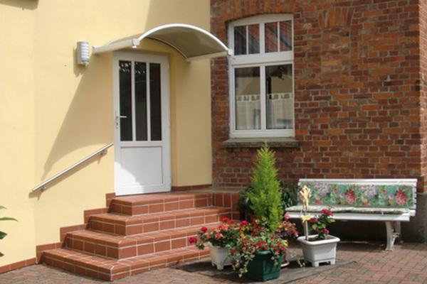 Ferienwohnung Krakow am See Krakower See Hausansicht