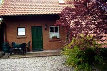 Ferienhaus Groß Gievitz Torgelower See Hausansicht Terrasse