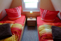 Ferienhaus Dabel Dabeler See Schlafbereich