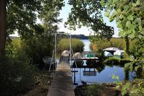 Ferienhaus Dabel Dabeler See Steg