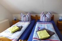 Ferienhaus Plau am See Schlafzimmer