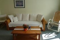Ferienwohnung Minzow Mecklenburgische Seenplatte Wohnzimmer