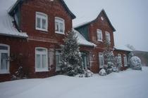 Ferienwohnung Minzow Mecklenburgische Seenplatte Winterhausansicht