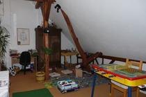 Zimmer Tramm Mecklenburger Seenplatte Gemeinschaftsraum Spielecke