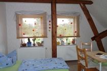 Zimmer Tramm Mecklenburger Seenplatte Schlafzimmer 2