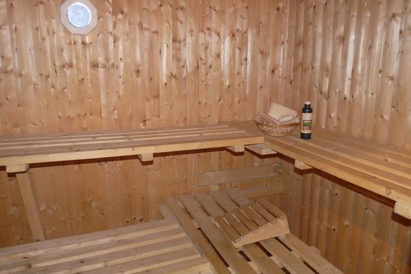 Zimmer Tramm Mecklenburger Seenplatte Sauna
