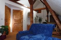 Zimmer Tramm Mecklenburger Seenplatte Gemeinschaftsraum Sofa