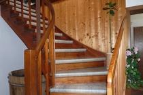 Zimmer Tramm Mecklenburger Seenplatte Treppe