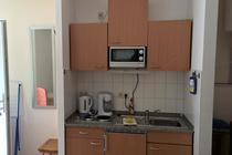 Ferienhaus Sassnitz Rügen kleine offene Küche
