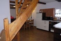 Ferienhaus Loppin Loppiner See Treppe OG